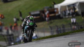 MotoGP: Morbidelli e Rossi comandano il Warm Up bagnato al Red Bull Ring