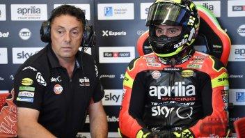 MotoGP: Aprilia muta l'organico: Cecchini promosso a coordinatore tecnico