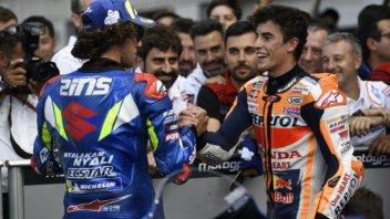 MotoGP: Silverstone: il duello di Marquez con Rins batte quello con Dovizioso