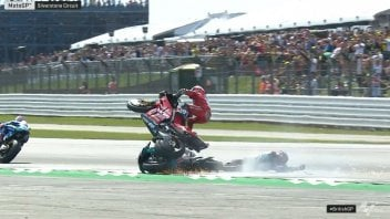 """MotoGP: Tardozzi: """"Dovizioso was angry, but we're not pointing fingers at Quartararo."""""""