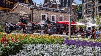 Moto - News: KTM Orange Juice: San Marino si tinge di arancione