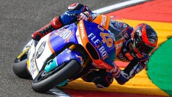 Moto2: FP1: Fernandez suona la carica ad Aragon, 2° Marini