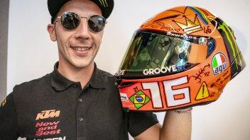 Moto3: Migno diventa designer e crea il suo casco per Misano