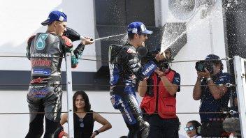"""MotoGP: Vinales: """"Per migliorare bisogna imparare da Quartararo"""""""