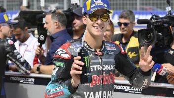 """MotoGP: Quartararo: """"Ripetere Misano? Marquez ad Aragon è troppo forte"""""""