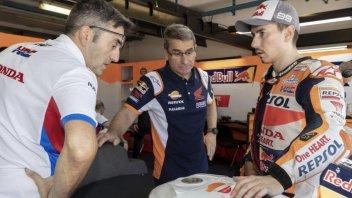 """MotoGP: Lorenzo: """"Vado piano, ma non perché ho paura di cadere"""""""