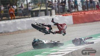 MotoGP: ULTIM'ORA. Nessuna lesione per Dovizioso, tornerà in Italia in serata