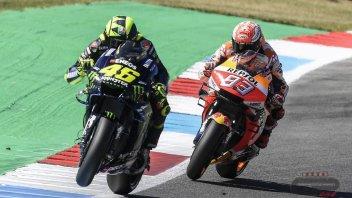 MotoGP: Al Sachsenring Marquez può pareggiare con Rossi