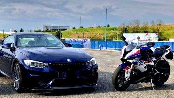 Moto - News: BMW: debutto per la serie M tra le due ruote?