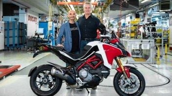 Moto - News: Ducati Multistrada a quota 100.000 e nel 2021 arriva la V4