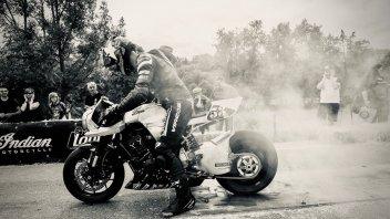 """Moto - News: Honda a """"Glamseck 101"""": feste e drag race per i 50 anni della CB Four"""