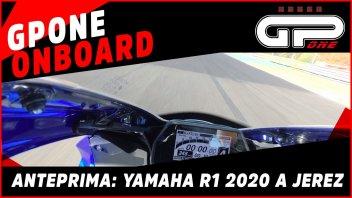 Moto - News: Yamaha R1 2020: primo contatto tra i cordoli di Jerez