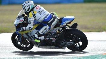 """SBK: Delbianco: """"Quando piove, mi sento un top rider!"""""""