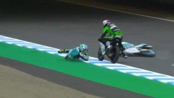 Moto3: FP1 a Motegi: 1° posto coi brividi per Dalla Porta