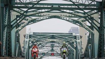 MotoGP: Lorenzo and Crutchlow turn Bangkok into a track