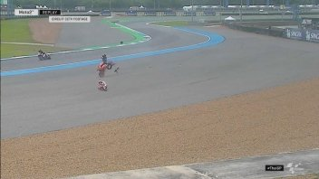 MotoGP: The pictures of the crash of Marc Marquez in Buriram