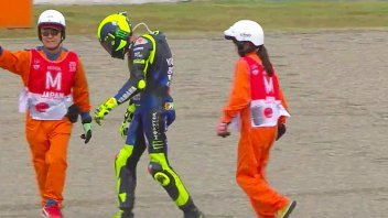 """MotoGP: Rossi: """"For a victory like Marquez's, I'd walk back to the pits too."""""""