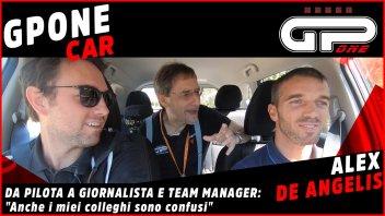 MotoGP: De Angelis nella GPOnecar: da pilota a giornalista e team manager
