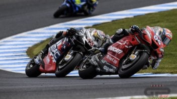 """MotoGP: Dovizioso: """"If I compare myself with Marquez, I can't but be happy."""""""