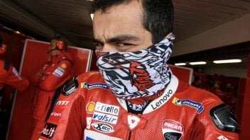 """MotoGP: Petrucci: """"With this wind I had to turn the handlebars to go straight"""""""