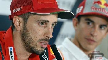 """MotoGP: Dovizioso: """"Ducati è come la Ferrari ma in Italia il tifo è per Rossi"""""""