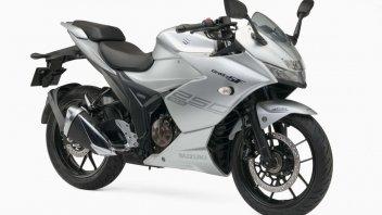 "Moto - News: Suzuki presenta le ""baby"" Gixxer al Tokyo Motorshow"