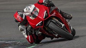 Moto - News: Ducati: downforce anche per la Panigale V4 1100