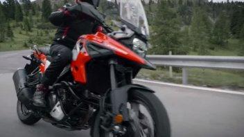 Moto - News: Suzuki: nuova V-Strom ai blocchi di partenza