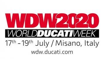 News Prodotto: Ducati: le date del World Ducati Week 2020