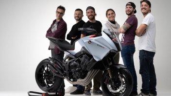 EICMA: Honda CB4X, il concept Made in Italy