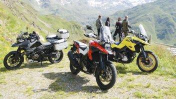 "EICMA: Suzuki V-Strom 1050 my20: la globe trotter dal look ""vintage"""