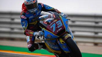 Moto2: Marquez in pole ad Aragon, ma Fernandez è 2°
