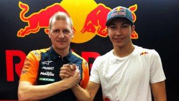 Moto3: Raul Fernandez riparte dalla KTM di Ajo nel 2020