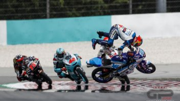 Moto3: Clavicola fratturata per Rodrigo: la sua stagione è finita