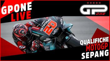 MotoGP: Sepang, LIVE qualifiche: Quartararo in pole, Marquez brutta caduta