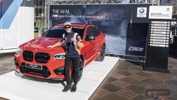 MotoGP: Marquez, un garage da sogno. La 7a BMW è arrivata: X4 M Competition
