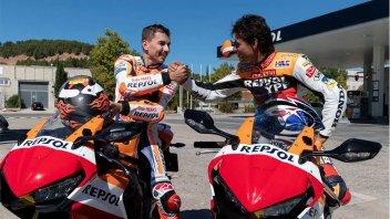 """MotoGP: Lorenzo in moto con Criville: """"la 1ª volta a 3 anni, la patente a 23"""""""