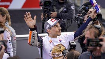 MotoGP: Honda celebra Jorge Lorenzo e l'emozione dell'addio