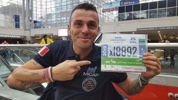 News: Emiliano Malagoli:la sfida è la maratona di New York con una gamba sola