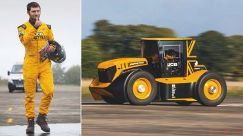 News: Guy Martin, speed record at 217 km/h-135 mph...with a tractor
