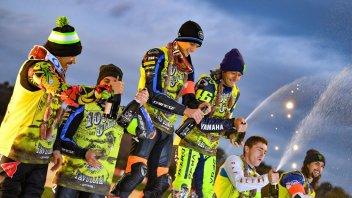 MotoGP: La 100 Km è un affare di famiglia: vincono Rossi e Marini