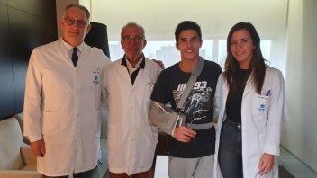"""MotoGP: Il dottor Mir: """"Marquez sarà pronto per i test di Sepang"""""""