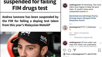 """MotoGP: Redding on doping: """"More tests... or would we have unexpected surprises?"""""""