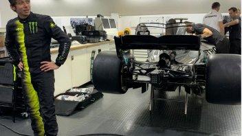"""MotoGP: Rossi and Hamilton in Valencia: the """"invisible"""" swap"""