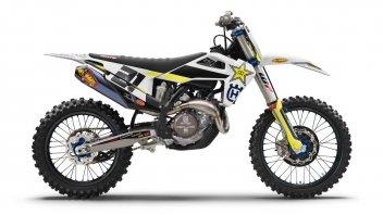 Moto - News: Husqvarna FC 450 Rockstar Ed. 2020: il cross, per professionisti