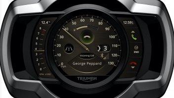 Moto - News: Arriva il nuovo My Triumph connectivity System che dialoga con GoPro