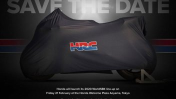 SBK: Bautista and Haslam's Honda unveils on February 21 in Tokyo