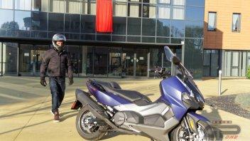 Moto - Test: SYM Maxsym TL 500: l'anti TMAX alla conquista della terra di nessuno