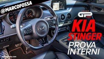 Auto - Test: Prova Kia Stinger - Esterni ed Interni