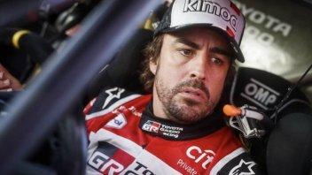 """Dakar: Alonso: """"I primi corrono in un altra categoria"""""""